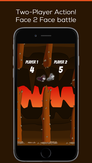 Little Batty - the dark flappy sister of the bird screenshot two