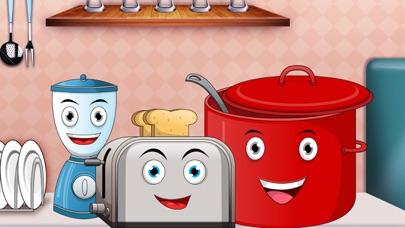 Peekaboo kids kitchen - Toddler first words learning screenshot four