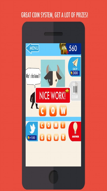 FanZootastic Quiz - Just Guess the Animals and Answer trivia question game for children screenshot-4