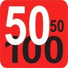 50 50 100 icon