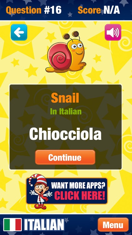 My Italian - Learning New Words