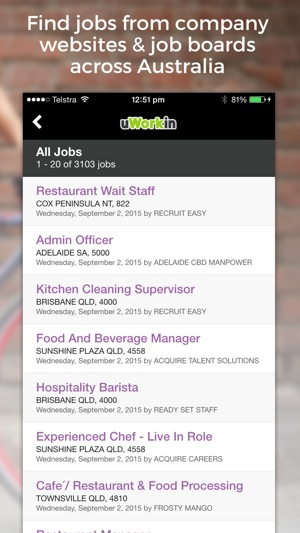 Hospitality Jobs & Tourism Jobs on the App Store