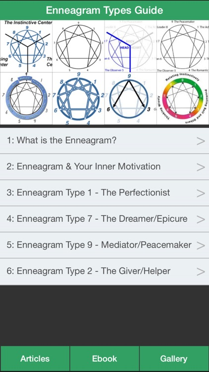 Enneagram Types Guide - Discovering Your Personality Type ! screenshot-0
