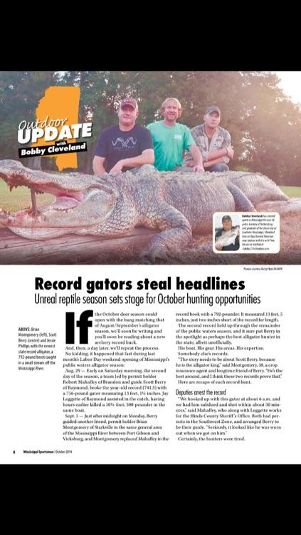 Mississippi Sportsman Magazine screenshot-3