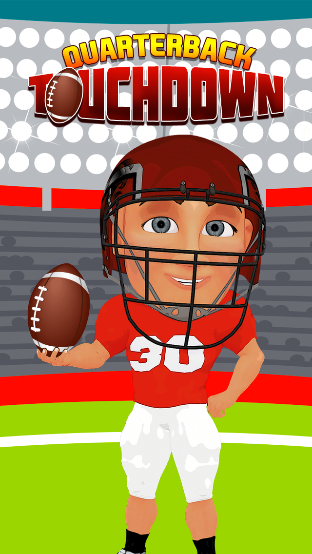 Quarterback Touchdown Target: Win the Big Football Game screenshot one