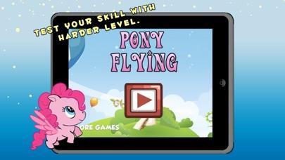 Pequeos unicornios mgicos asombrosos juegos de vuelo y la