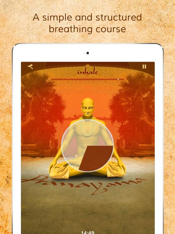 Health through Breath: Pranayama Lite for the iPad