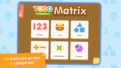 Todo Number Matrix: Brain teasers, logic puzzles, and mathematical  reasoning for kids | App Price Drops