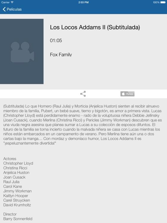 Televisión de Nicaragua para iPad