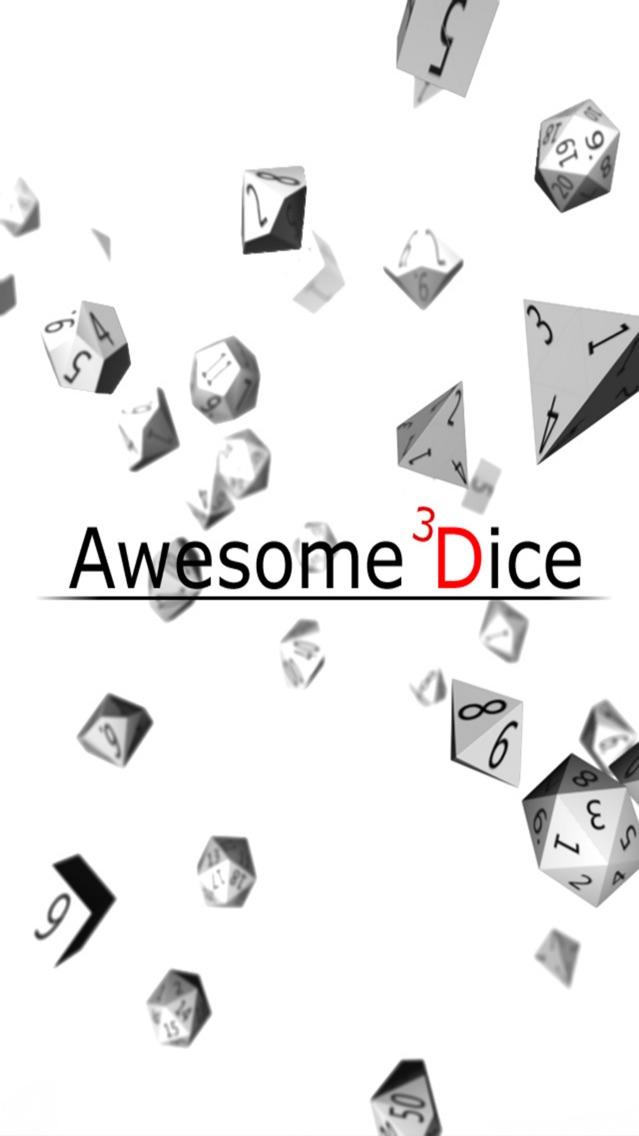 Awesome Dice 3D Screenshot