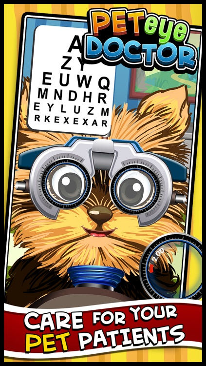Crazy Pet's Eye Vet - Virtual Pet Eye Care Doctor's Office Games for Kids