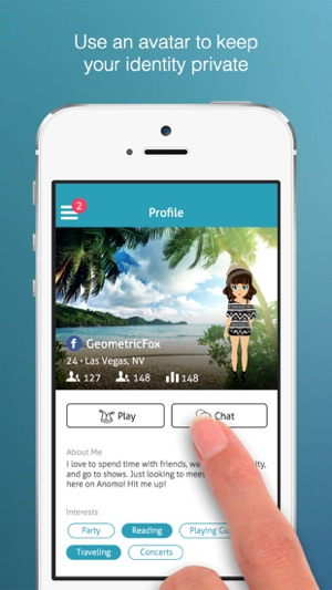 Anomo - Meet New People on the App Store