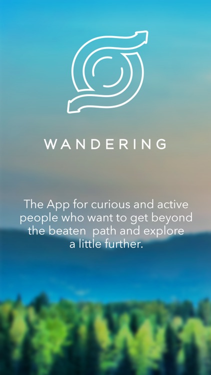 Wandering: Discover Amazing Places and Experiences