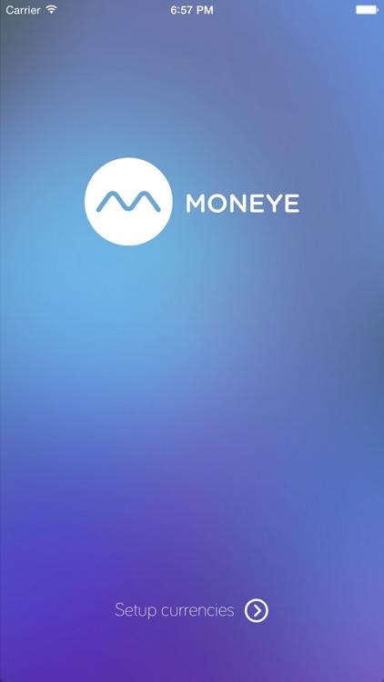 Moneye - Exchange Rates screenshot-0