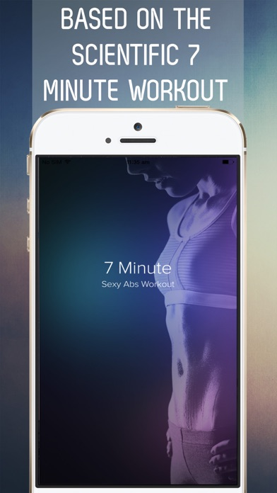 7 Minute Sexy Abs Workout for Fab Abs in 30 Days Screenshot 1