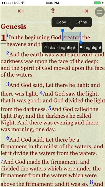 Holy Bible ASV (America Standard Version) screenshot-3
