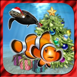 3D Christmas Aquarium : my Fish Special Edition