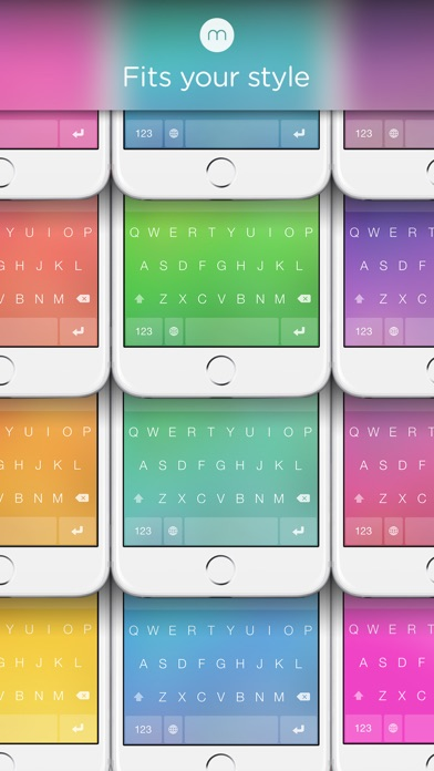 Minuum - The Little Keyboard for Big Fingers Screenshot