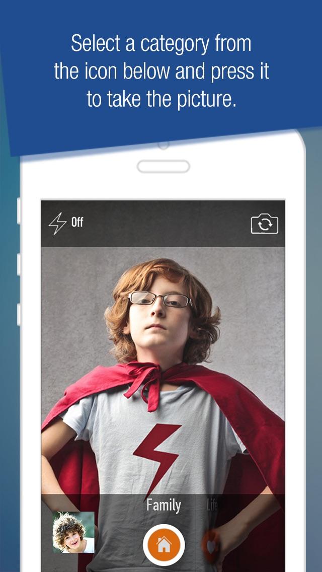 Photo File - Organize your photos before you even snap a shot screenshot one