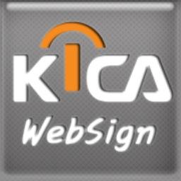 KICA웹사인