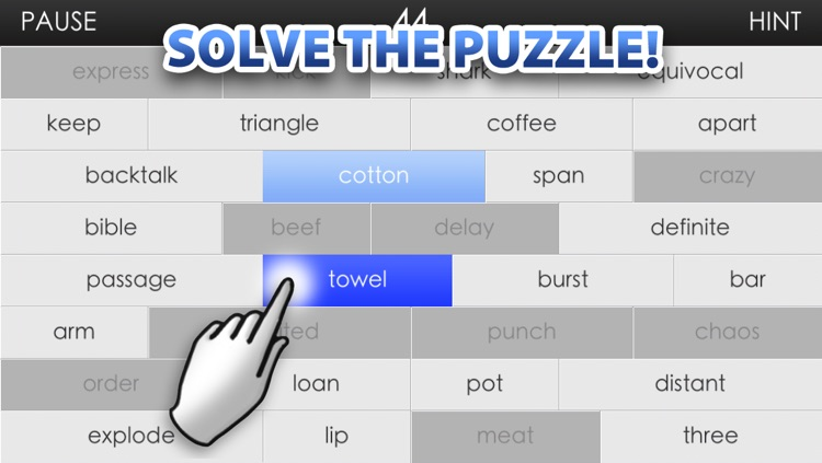 Word Wall - A challenging and fun word association brain game screenshot-3