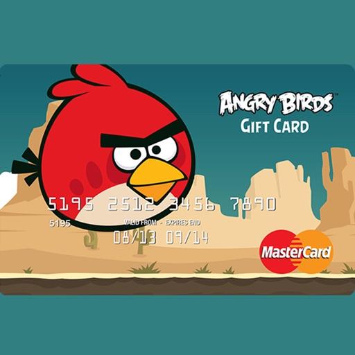 Angry Birds Prepaid Card by Brandution v2.0 iOS App