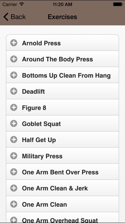 Kettlebell Lifts - HD Video Workouts