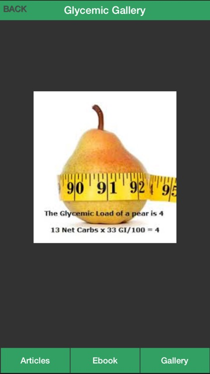 Glycemic Index Guide - How To Control Your Glycemic Index Effectively screenshot-4