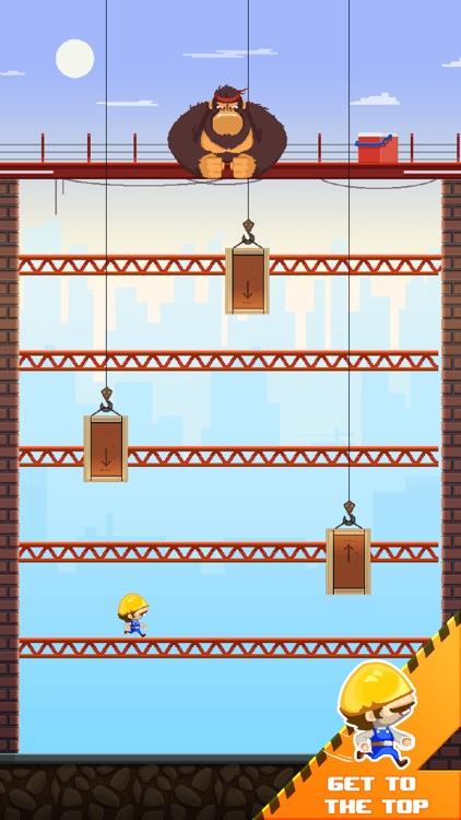 Blocky Kong - Retro Arcade Fun screenshot-0