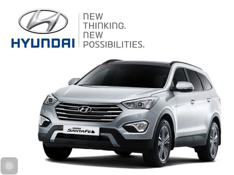 Hyundai Grand Santa Fe Showcase