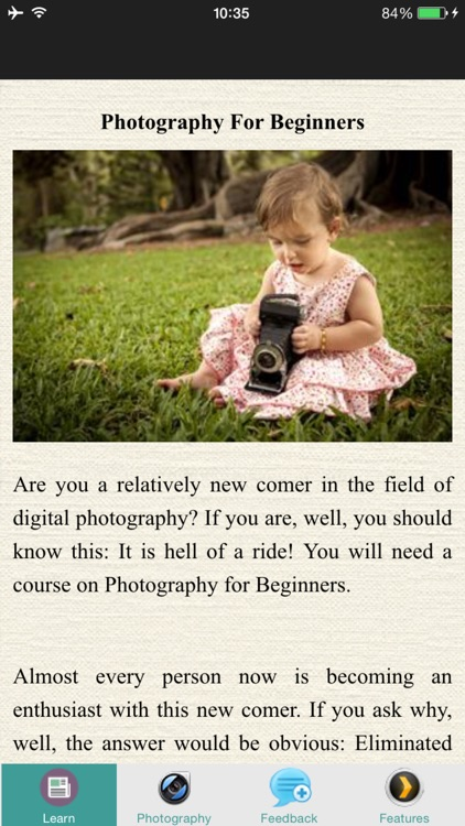 Photography For Beginners - Tips & Tricks
