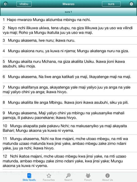 Swahili Bible Offline HD screenshot-3