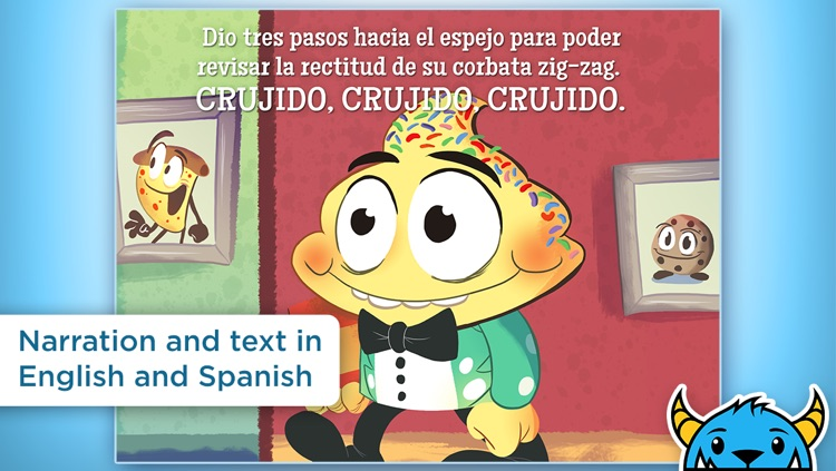 Mr. Cupcake Has The Sprinkles – An Interactive Animated Storybook App For Kids HD screenshot-3