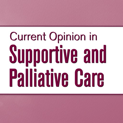 Current Opinion in Supportive and Palliative Care | Apps | 148Apps