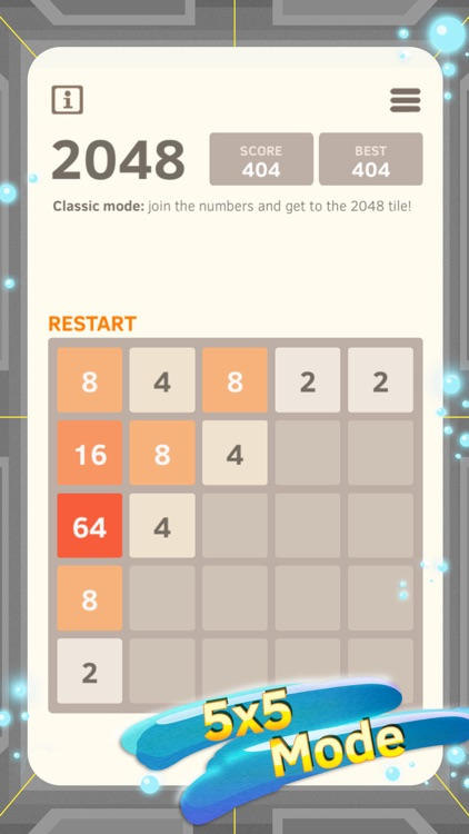 2048 Number Puzzle game + Best 2048 app with unlimited undo feature, 5x5 mode, time survival mode plus #1 multiplayer screenshot-3