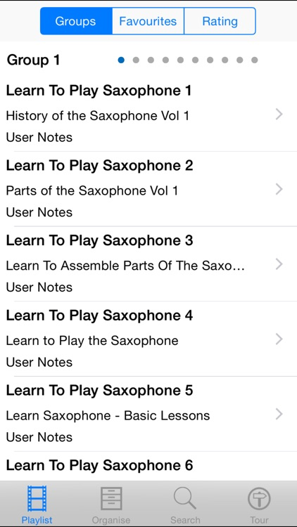 Learn To Play The Saxophone screenshot-1