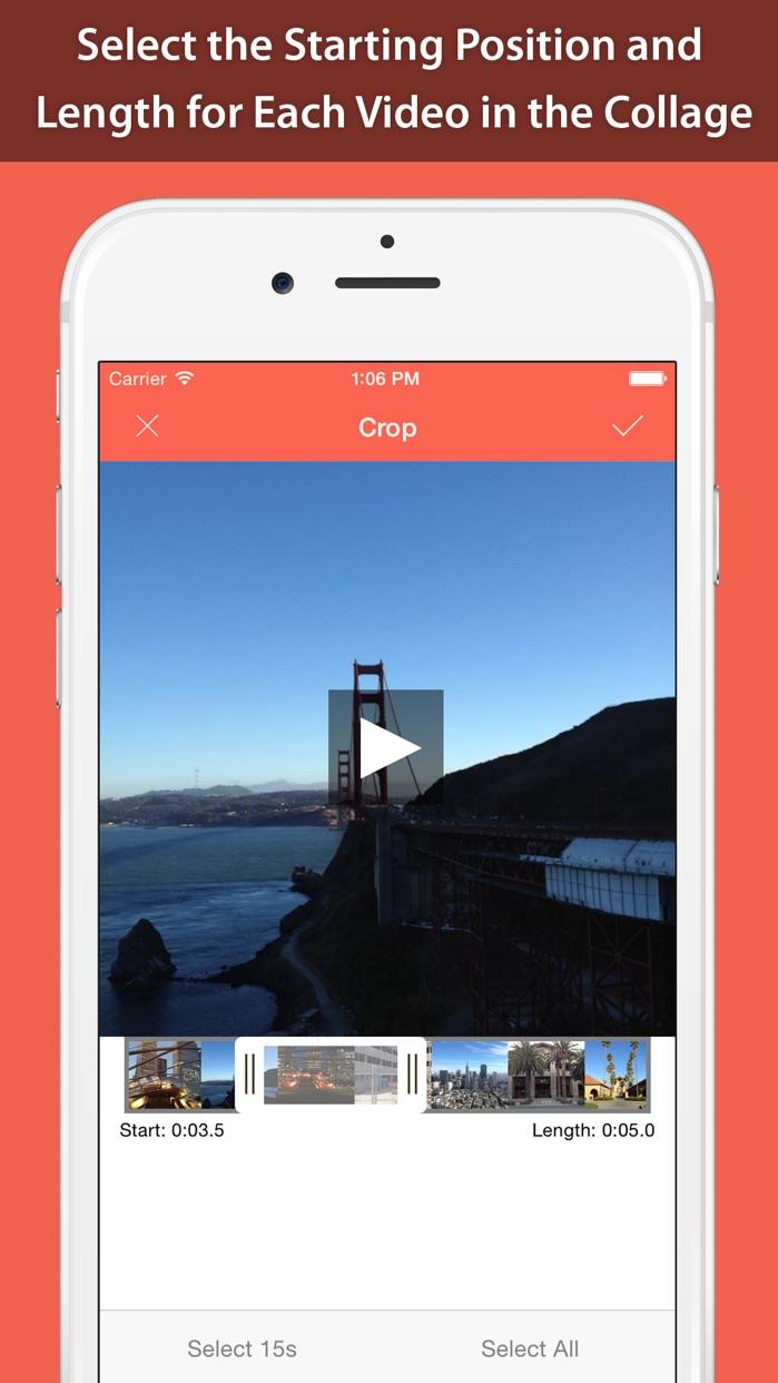 Photo & Video Collage Maker (Pro) for Instagram, Vine & YouTube Screenshot