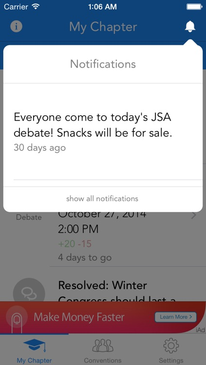 JSA Mobile screenshot-1