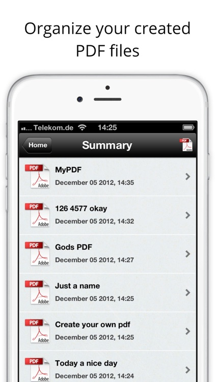 PDF Creator - Create your own PDF screenshot-4