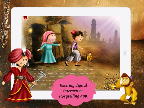 Aladdin and the Magical Lamp for children by Story Time screenshot 2