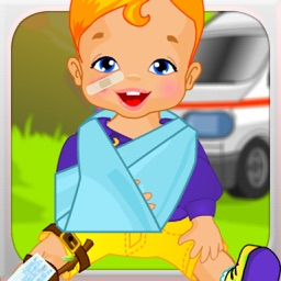 Kids First Aid Road Accident