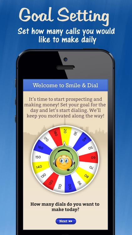 Smile & Dial PRO: Sales Tracker