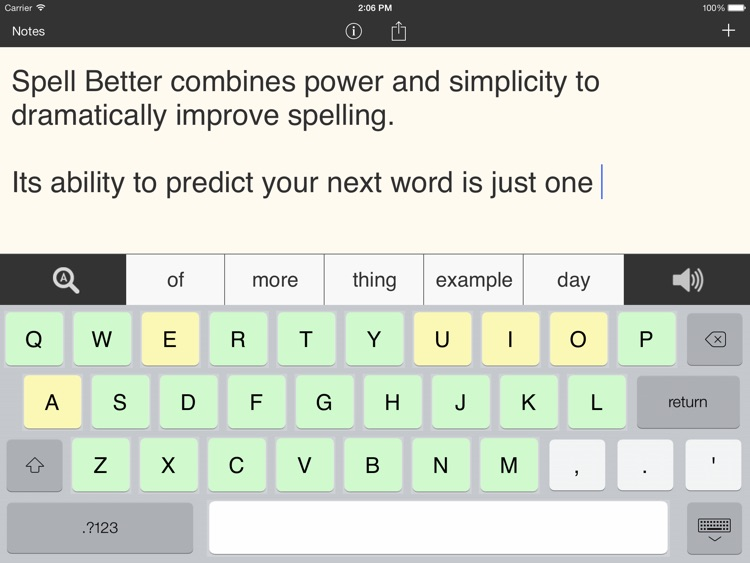 Spell Better - Literacy Support for Dyslexia, Dysgraphia, and Low Vision
