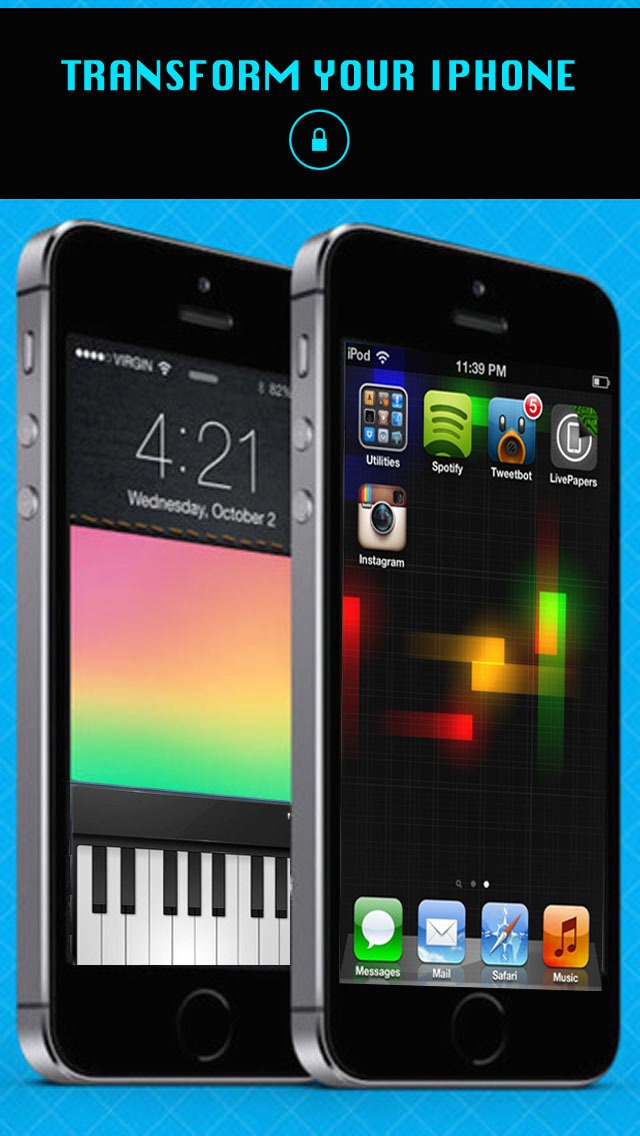 AppLock Themes Screenshot on iOS