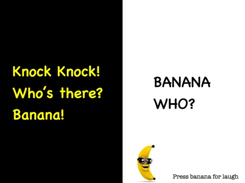 Image of: Lunch Screenshot Itunes Apple Banana Knock Knock Jokes For Kids By Peter Crumpton On Apple Books