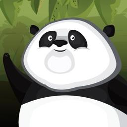 Baby Panda Rope Escape - Fun Bamboo Swing