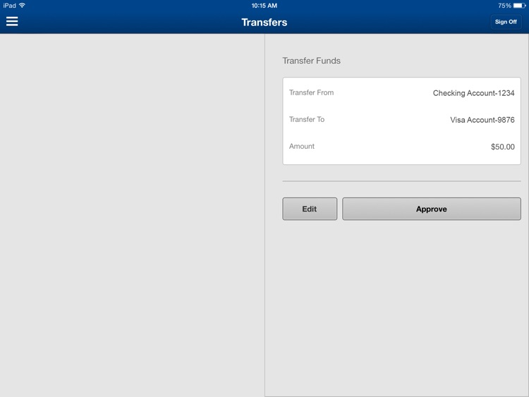 Nevada State Bank Mobile Banking for iPad screenshot-4