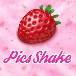 Pics Shake 〜シェイクでエフェクト!ランダム写真加工アプリ〜