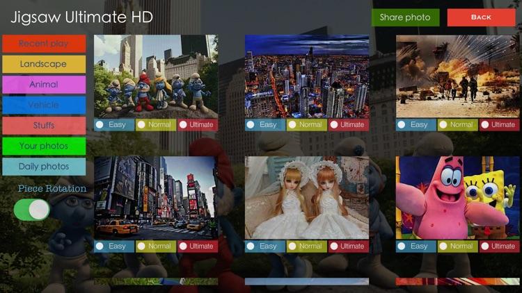 Jigsaw Ultimate HD screenshot-4