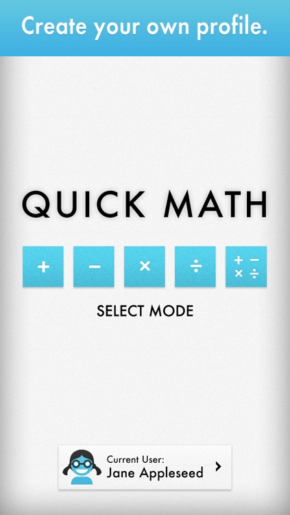 Quick Math - Multiplication Table & Arithmetic Game screenshot-3